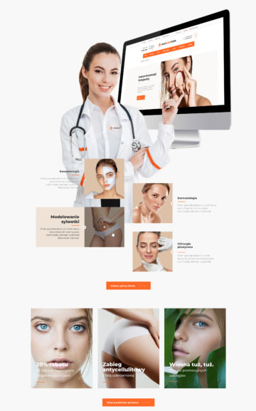 oprogramowanie front-end Medical Clinic Podhale